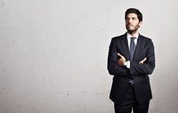 生意人的纵向 免版税库存图片