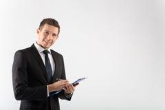生意人的纵向 免版税库存照片
