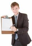 生意人纵向 免版税图库摄影