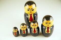 生意人组 免版税图库摄影