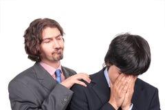 生意人羞辱 免版税图库摄影
