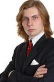 生意人诉讼 库存照片