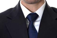 生意人诉讼tieknot 免版税库存图片