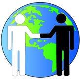 生意国际 免版税库存图片