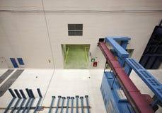生成水力发电的行业内部 免版税库存照片