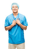 医生护士 免版税库存照片