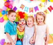 生日儿童当事人 免版税库存照片