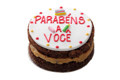 生日巴西蛋糕 免版税库存图片