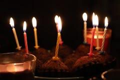 生日快乐生日聚会愉快的美好时光 免版税库存照片