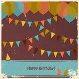 生日快乐看板卡 库存图片