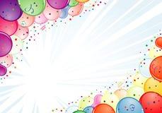 生日框架 图库摄影