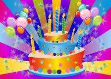 生日蛋糕, 图库摄影
