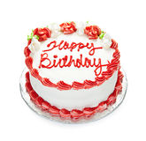生日蛋糕 免版税库存照片