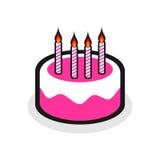 生日蛋糕 库存照片
