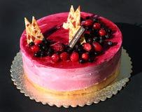 生日蛋糕 免版税图库摄影