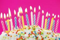 生日蜡烛 库存图片