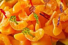 生日食物 免版税库存照片