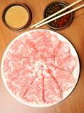 生气勃勃从日本的神户牛肉 图库摄影
