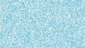 生气蓬勃的标志蓝色背景  股票视频