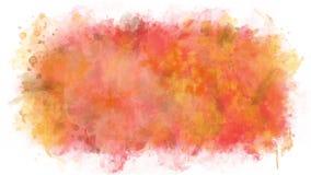 生气蓬勃的油漆混合程序 皇族释放例证