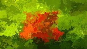 生气蓬勃的twinking的被弄脏的背景无缝的圈录影-水彩污点作用-自然植物叶子绿色 皇族释放例证