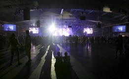 生波探侧器夜035 库存照片