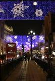 生活伦敦晚上 免版税库存图片