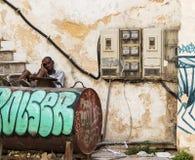 生活在哈瓦那古巴 库存照片