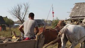 生活在罗马解决乌克兰横过喀尔巴阡山脉 股票录像