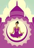 生活瑜伽 免版税图库摄影