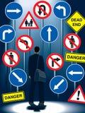生活管理规定符号 库存图片