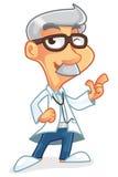 医生漫画人物 库存图片