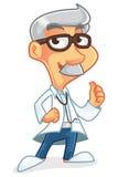 医生漫画人物 图库摄影