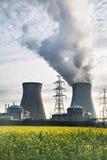 生物剂量生物燃料能源核工厂次幂 免版税库存照片