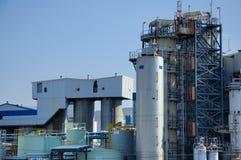 生物化学的工厂 免版税库存图片