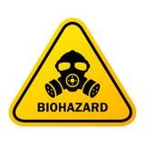 生物危害品危险传染媒介标志 向量例证