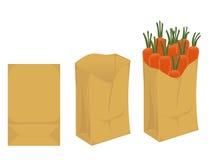 生物可分解的包裹 库存例证