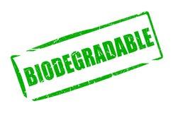 生物可分解的rectantular不加考虑表赞同的人 库存例证