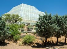 生物圈二号地球科学实验室 免版税库存照片