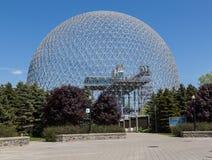 生物圈博物馆在蒙特利尔 免版税库存照片