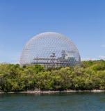 生物圈博物馆在蒙特利尔 免版税图库摄影