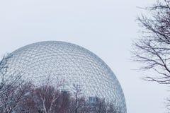 生物圈在蒙特利尔,加拿大 库存图片