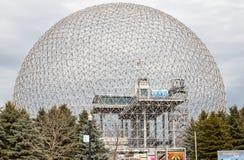 生物圈环境博物馆在蒙特利尔 免版税库存照片