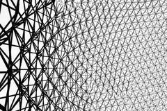 生物圈的金属框架在蒙特利尔 免版税图库摄影