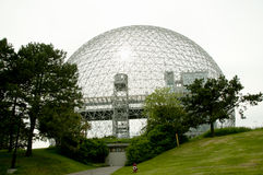 生物圈-蒙特利尔-加拿大 库存照片