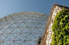 生物圈-蒙特利尔-加拿大 免版税库存照片