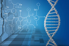 生物工艺学基因研究 库存照片