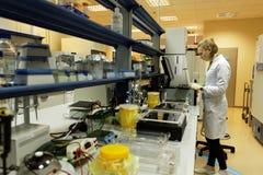 生物技术公司BIOCAD研究实验室  免版税图库摄影