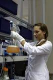 生物技术公司BIOCAD研究实验室  免版税库存照片