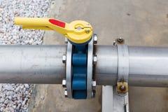 从生物气发电站的电 库存照片